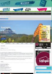 Visuel de l'article sur le festival du festapic parue sur le site du guide des frestivals